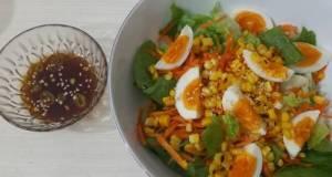 Salad sayuran dressing ala Korea