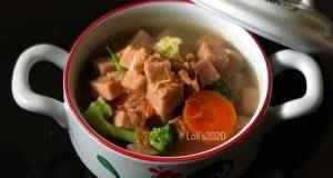 Pork Luncheon Soup (non halal)