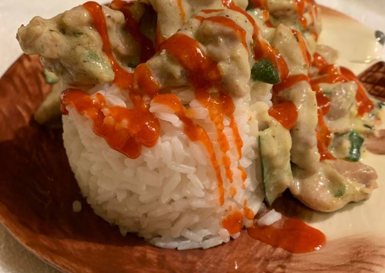 Creamy Zucchini Chicken