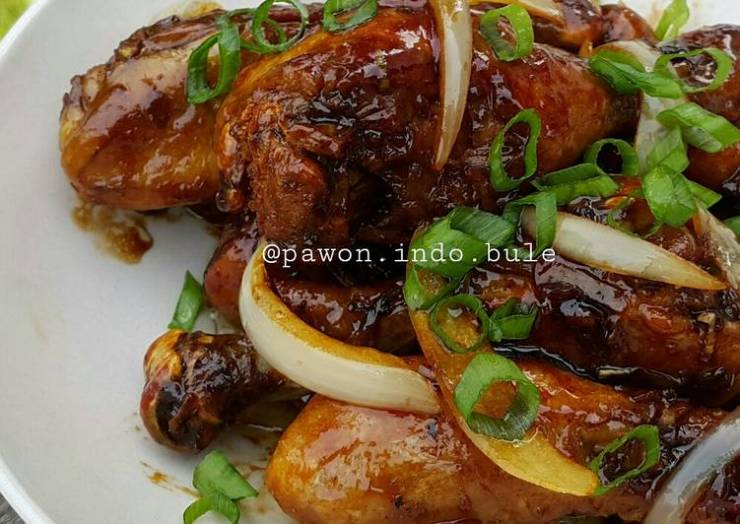 Fried Chicken inWorcestershire sauce