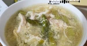 Sup Ayam Asparagus