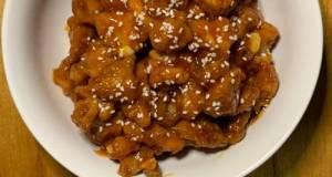 Chicken Popcorn with sauce korean Sweet Spicy