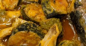 Surmai curry (king mackerel)
