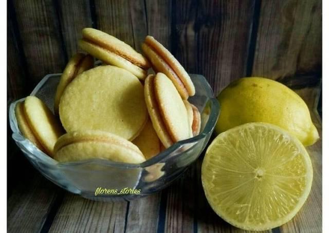 Macarons lemon