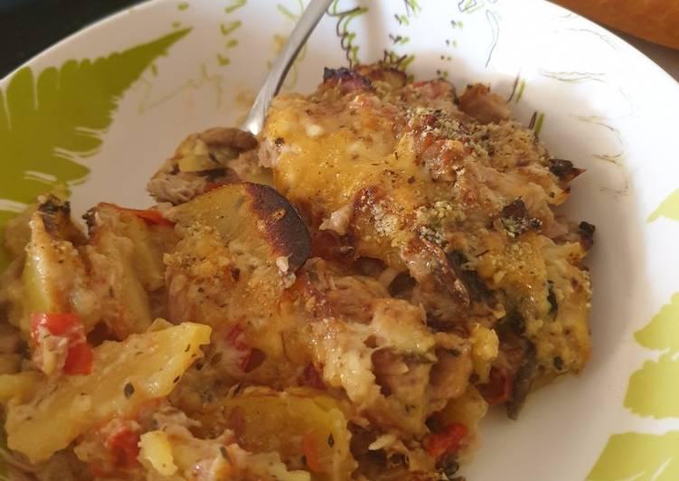 All in potato gratin