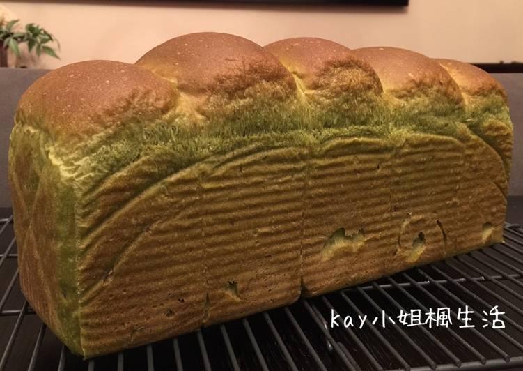和風櫻花抹茶吐司 Cherry Blossoms Matcha Loaf (天然酵母版)食譜 by Kay小姐楓生活 - Cookpad
