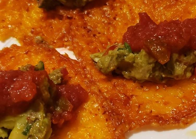 , How to Make Perfect Cheese Tacos (a keto snack)