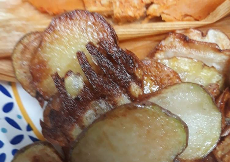 Mixed potatoes in Duck Fat