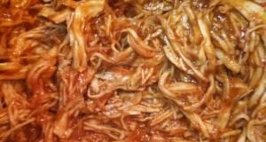 BBQ Shredded Chicken - Slow Cooker