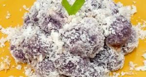Kelepon ubi ungu