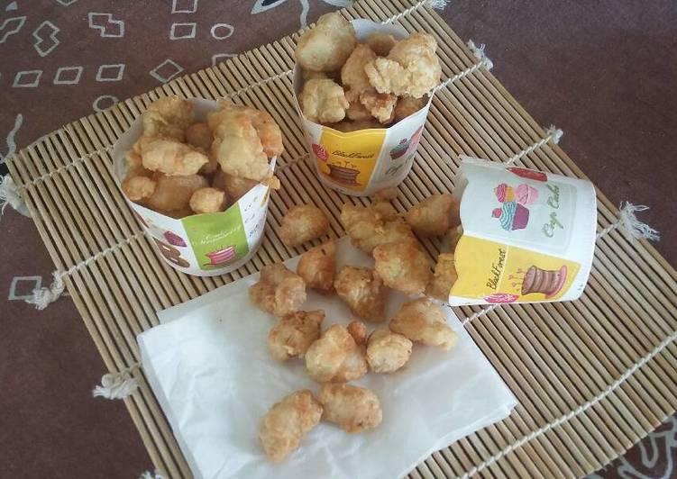Crunchy Chicken Popcorn