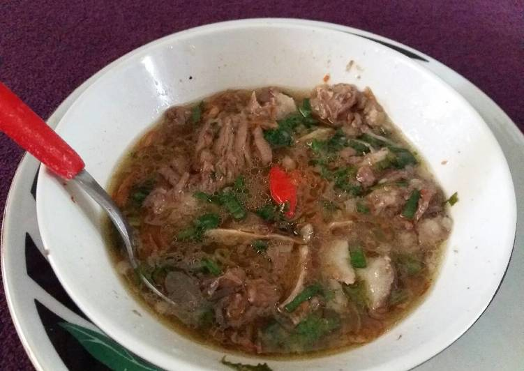 Resep Sop Jando Sapi Oleh Derra Rahmawati F A Cookpad
