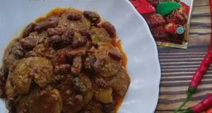 257 'Rendang Jengkol Kacang Merah, Bumbu Indofood'