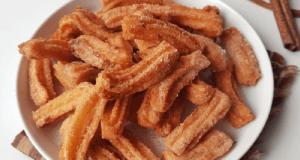 16. Mini Cinnamon Churros (no mixer)