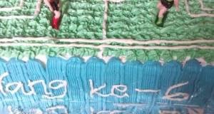 Cake Ultah Sepak Bola