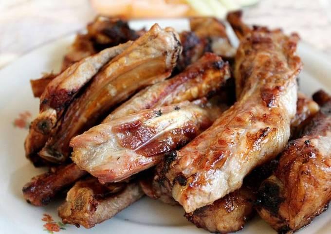 Pork BBQ | Dharane Kalo Bungurko Sekuwa