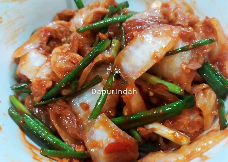 Kimchi home made