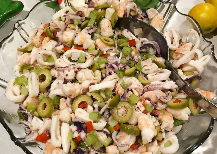 Grandma Terry's Seafood Salad