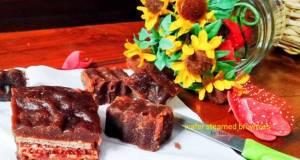 Wafer Steamed Brownies