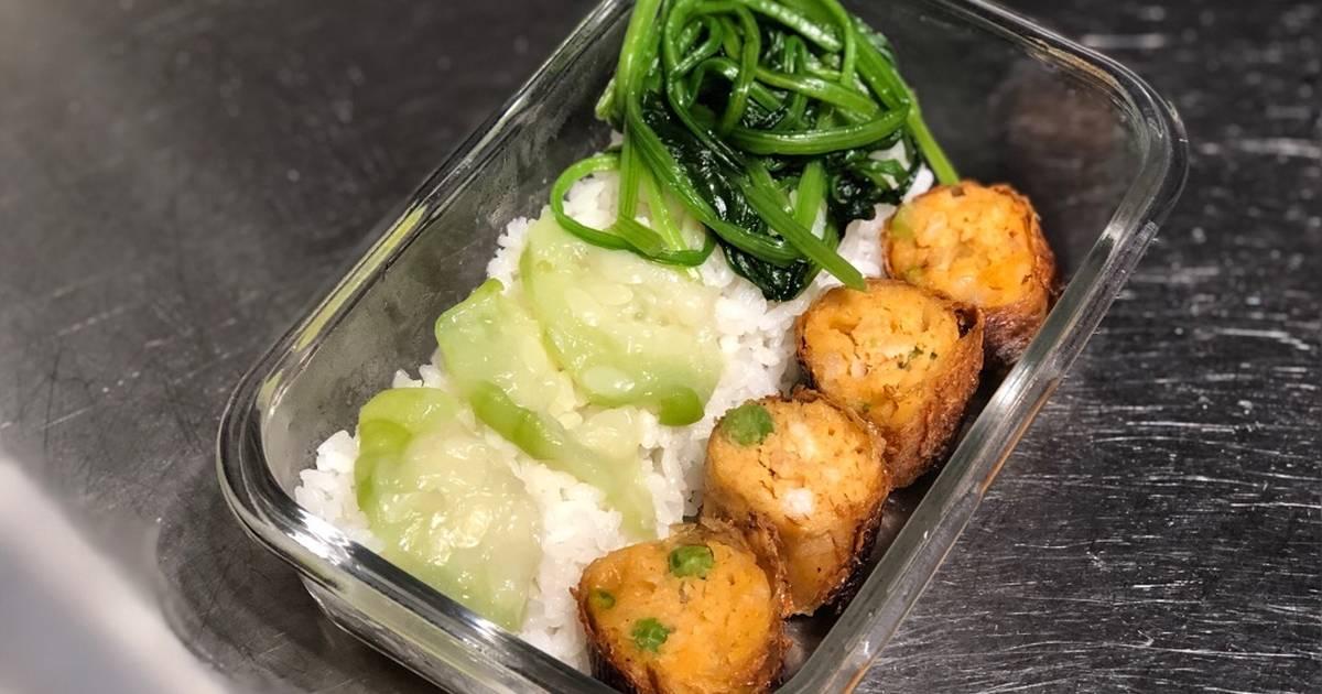 豆皮菠菜捲 食譜,作法共3個 - 全球最大料理網站 - Cookpad