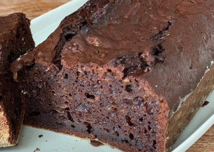 Cake 100% chocolat (et courgette)