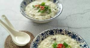 Bubur Nasi Daging Bersantan