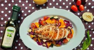 Chicken Breast Salad With Olivoila