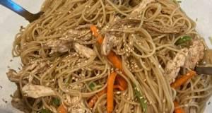 Mom's sesame chicken pasta