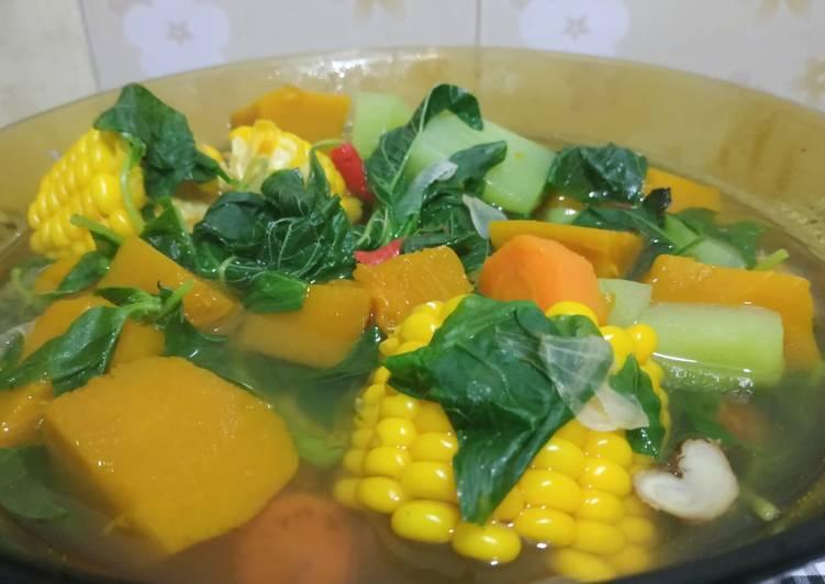 Sayur bening labu kuning