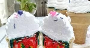 Aiskrim Cupcakes