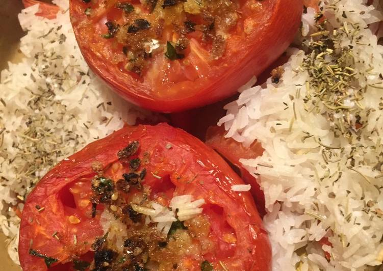 Tomates a la provençale express