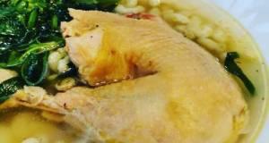 Makaroni Chiken Sup