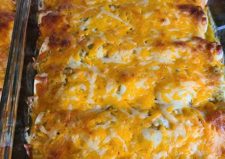 , Recipe: Appetizing Salsa chicken enchiladas my way
