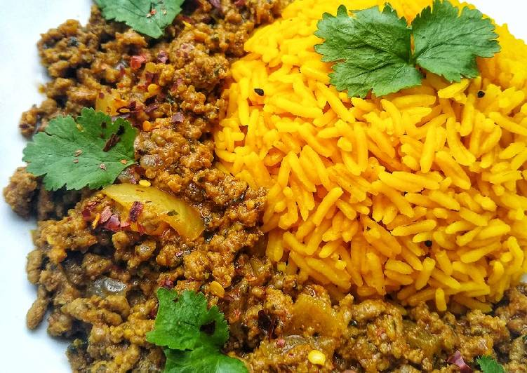 My Nana's Keema Curry