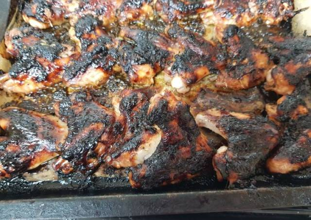 My Glassa A Base Do Ace to Balsamico Do Modena, Chicken wings