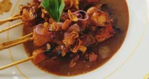 Sate Ayam (Bumbu Kacang)