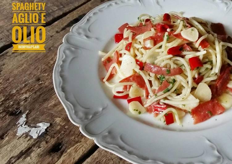Spaghetty Aglio e Olio A-la Indi