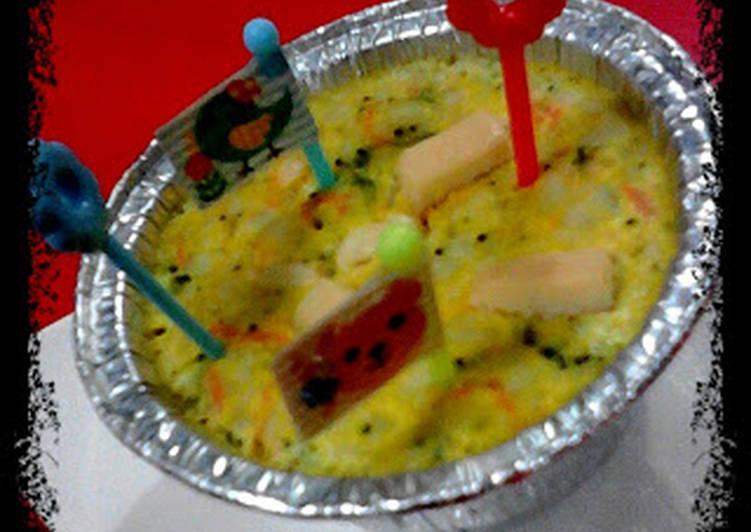 macaroni schotel pelangi *edisi bayi 8+*