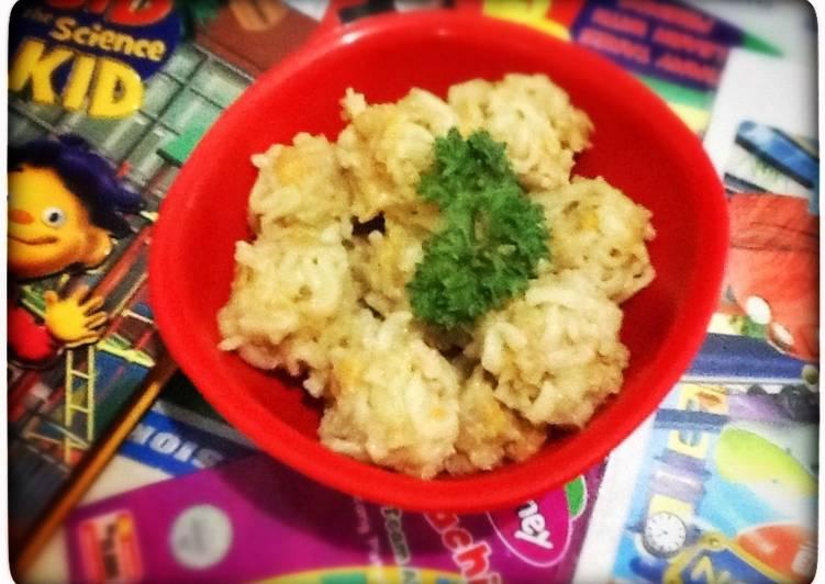 noodle chicken balls *edisi bocah*