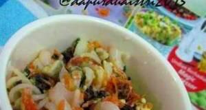 salad pasta edisi bayi