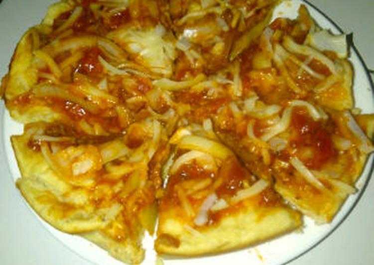 pizza simple enak..