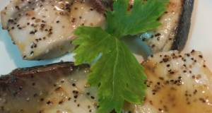 Ikan Kakap Panggang saus Lemon