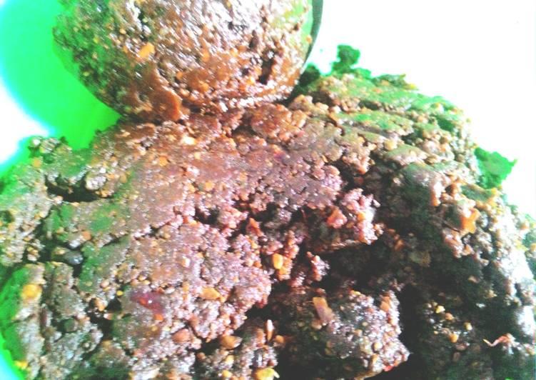 Sambal Pecel asli jawa(gado2)