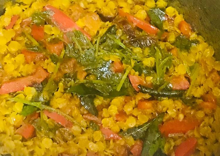 Masoor dal & red bell pepper # Ramzan special