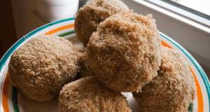 Fitness Recipes- Diet Plum Dumplings