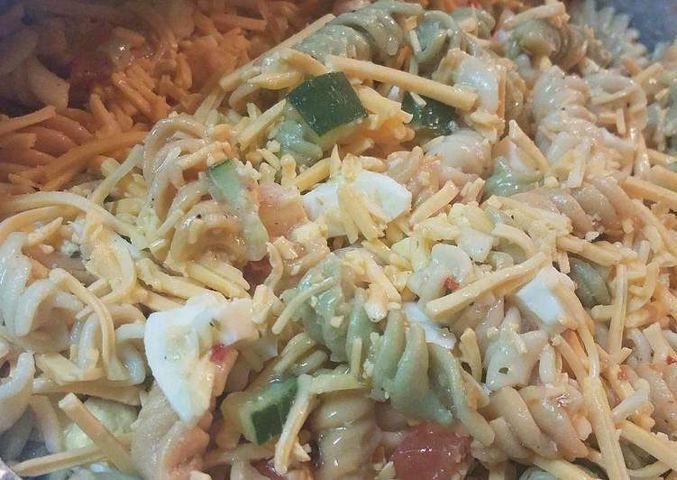 Easy Seafood Pasta Salad