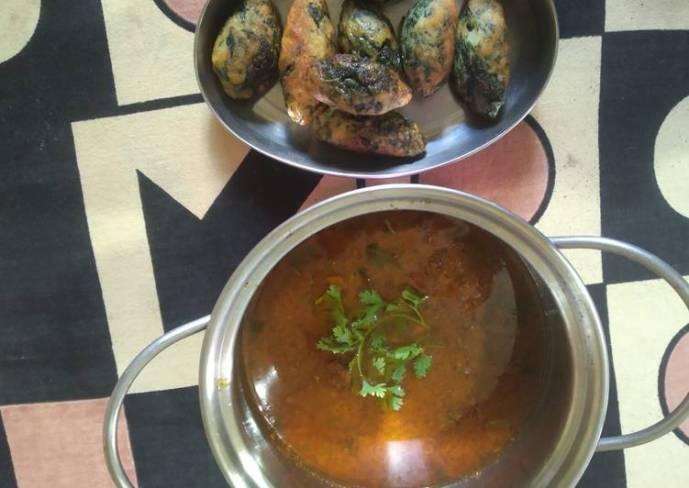Palak malai kofta With shahi gravy