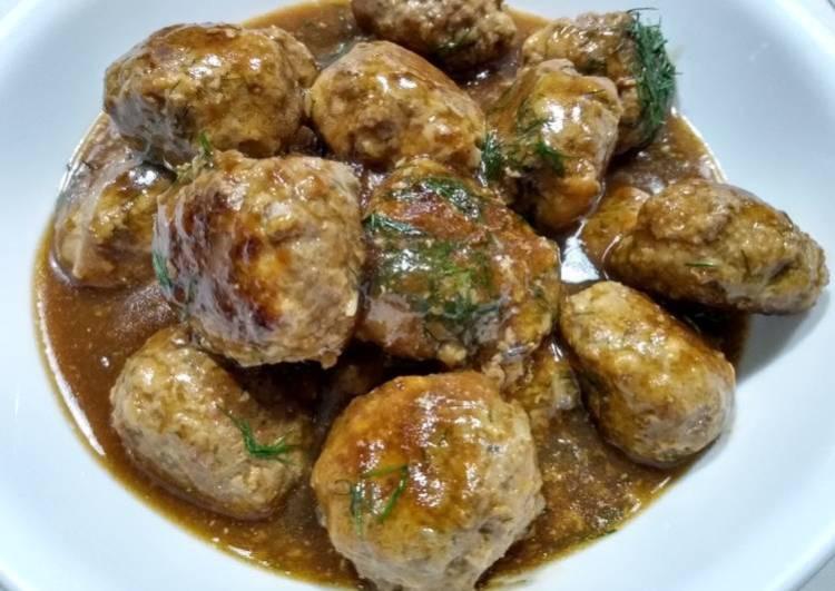 Swedish-y meatballs