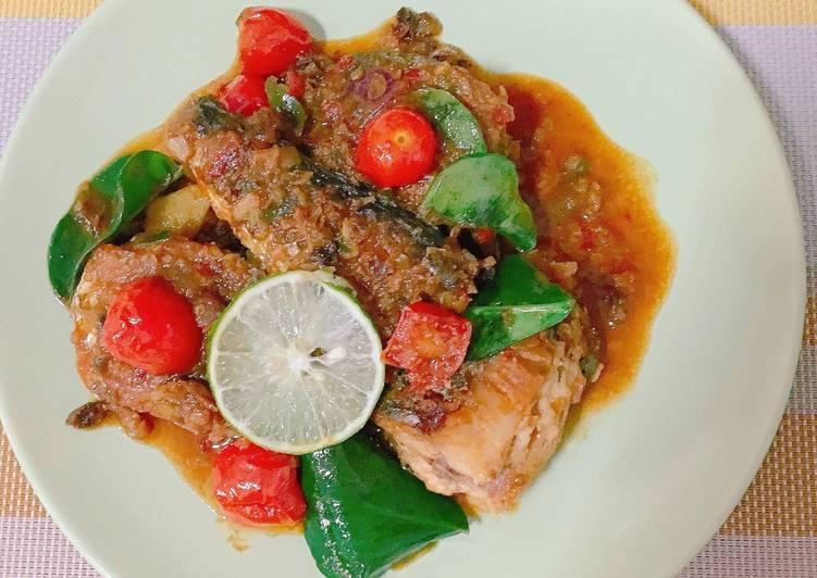 Mackerel fish balado