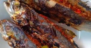 Ikan Cencaru Bakar Tomyam